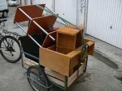 demenagement à vélo remorque